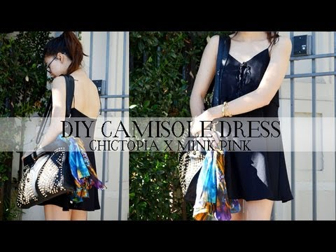 DIY Camisole Dress (Chictopia x MinkPink) Giveaway