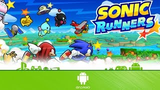 Sonic Runners - First 7 Minutes (Android Gameplay)