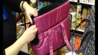 Зоо товары - Стильная сумка переноска для кошек и собак