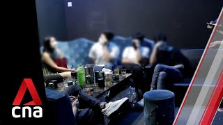 8 people arrested in late-night raid on illegal karaoke joints
