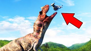 MY DINOSAUR ESCAPED! (Jurassic World)