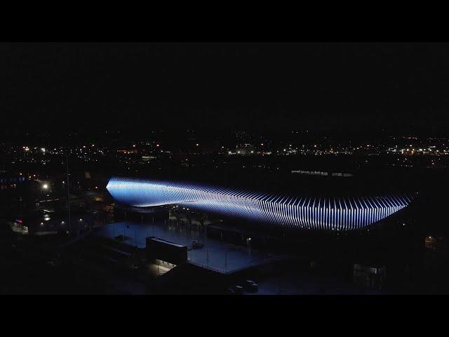 West End Stadium Fin Lighting