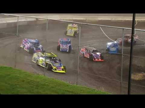 DIRTcar Summer Nationals Modifieds Peoria Speedway June 13th, 2018 | HIGHLIGHTS