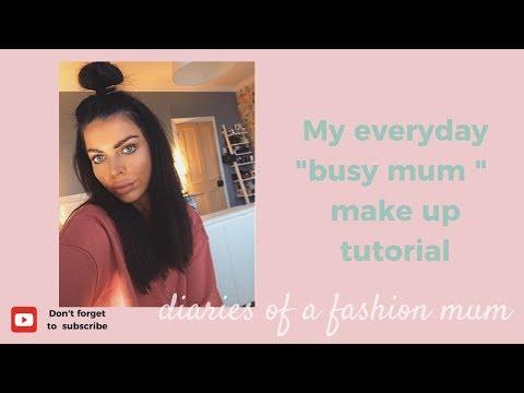 Busy Mum everyday GRWM make up