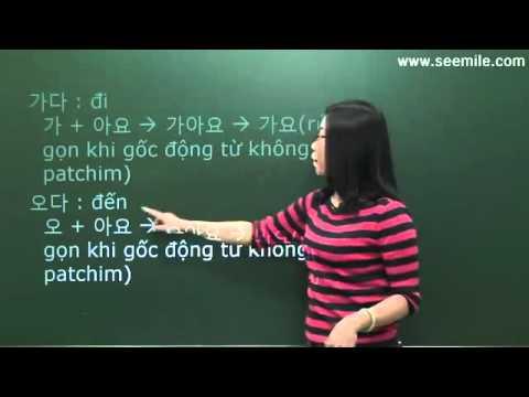 Hoc Hoi Thoai Tieng Han Quoc  - Bai 12 ( Cac Cau Hoi Thoai Co Ban  )