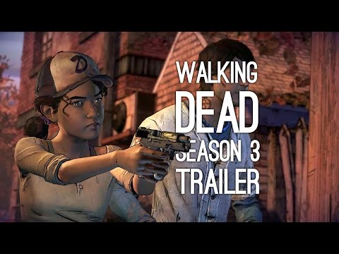 The Walking Dead Season 3 Game Trailer - Teen Clem and Javier (E3 2016)