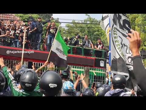 Terbaru Konvoi Arak-Arakan Perayaan PSS SLEMAN Juara Liga 2 2018 (6 Desember 2018)