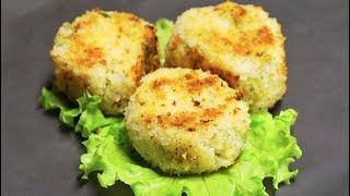 Биточки из цветной капусты. Рецепт от Всегда Вкусно!