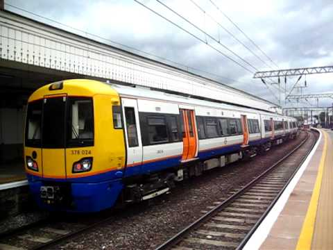 London Overground Service To Richmond Calling At Camden Road Station.