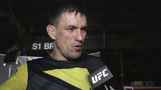 UFC 211: Demian Maia Backstage Interview