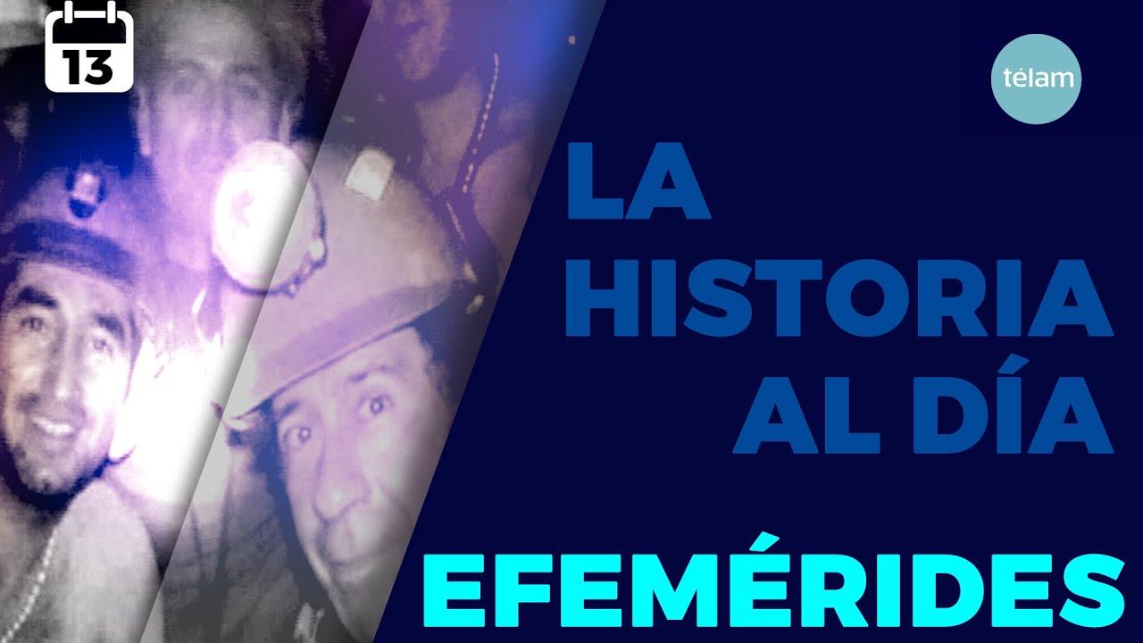 LA HISTORIA AL DÍA (EFEMÉRIDES 13 OCTUBRE)