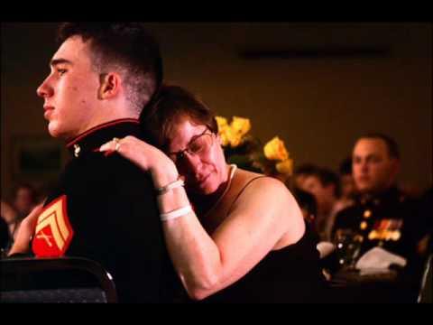 marine's final salute