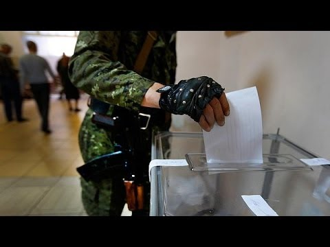 Separatists in east Ukraine claim overwhelming 'yes' for self-rule in referendum