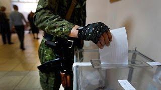 Separatists in east Ukraine claim overwhelming