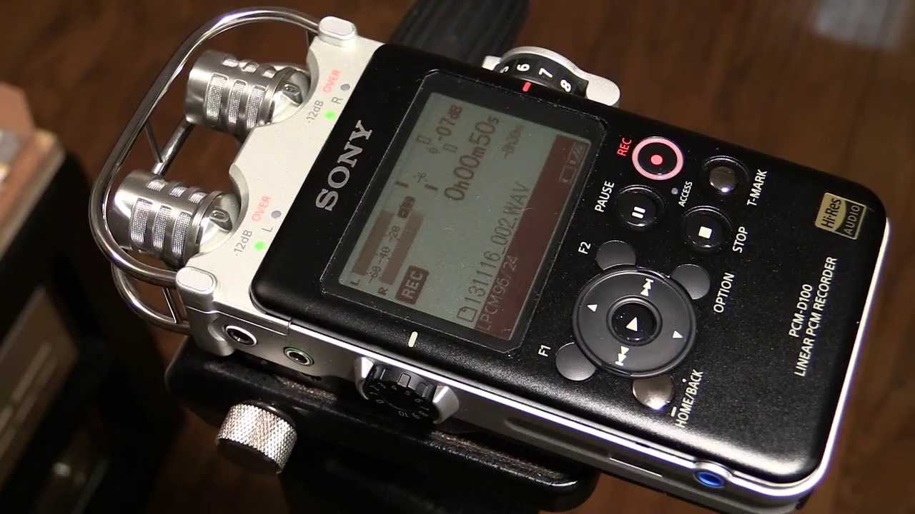 Pcm For Less >> New One! SONY PCM-D100 (additional video) - YouTube