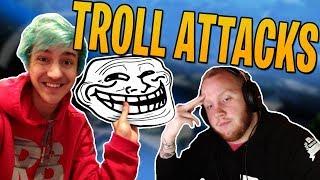 Troll Attacks from Ninja! With TimTheTatMan & FearItSelf