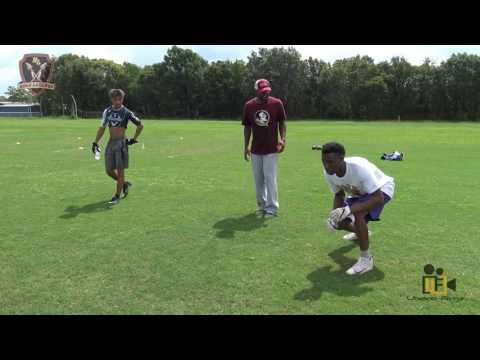 EG Green Dead Leg Drill Nole Legends Football Camp