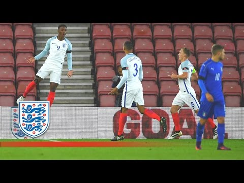 Official - England U21 3-2 Italy U21 | Goals & Highlights