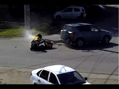 Motorcycle crash compilation April 2015 / motorcycle accident 2015