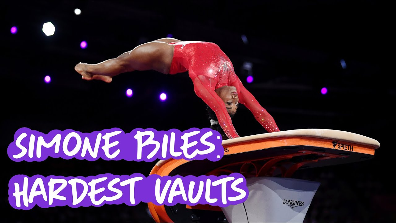 Simone Biles Completes World's Most Difficult Vault In Practice
