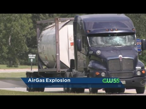 Airgas Explosion Takes Place  In Cantonment