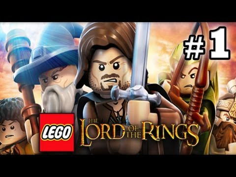 LEGO Lord of The Rings : Episode 1 - Prologue (HD) (Gameplay)