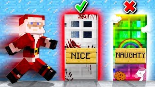 HOW TO TROLL SANTA IN MINECRAFT!