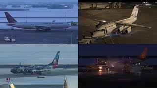 Plane Spotting at the Renaissance Hotel - Edmonton International Airport ᴴᴰ