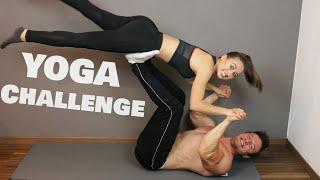 Extreme Yoga Challenge mit meiner Freundin!