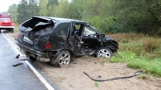 Жесткие аварии 4й недели Сентября 2015