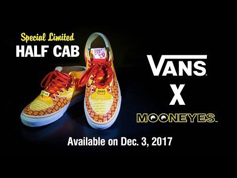 VANS X MOONEYES Special Limited Half Cab