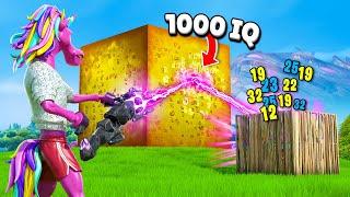 15 SMARTEST Fortnite Plays! (1000 IQ)