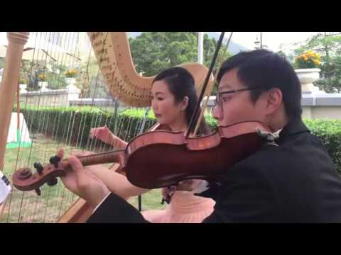 What a Wonderful World - Harp & Violin Duet