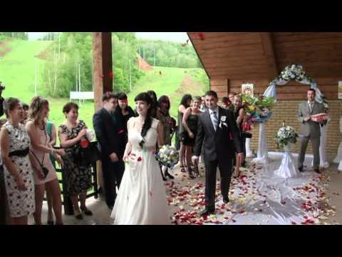 Свадьба  в Альметьевске Выездная регистрация  фото-видеосъёмка Ник Б. +7917 223 23 14