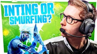 Bjergsen - INTING OR SMURFING?