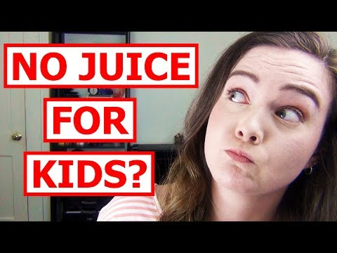 How Much Juice Should Kids Drink? New Guidelines!