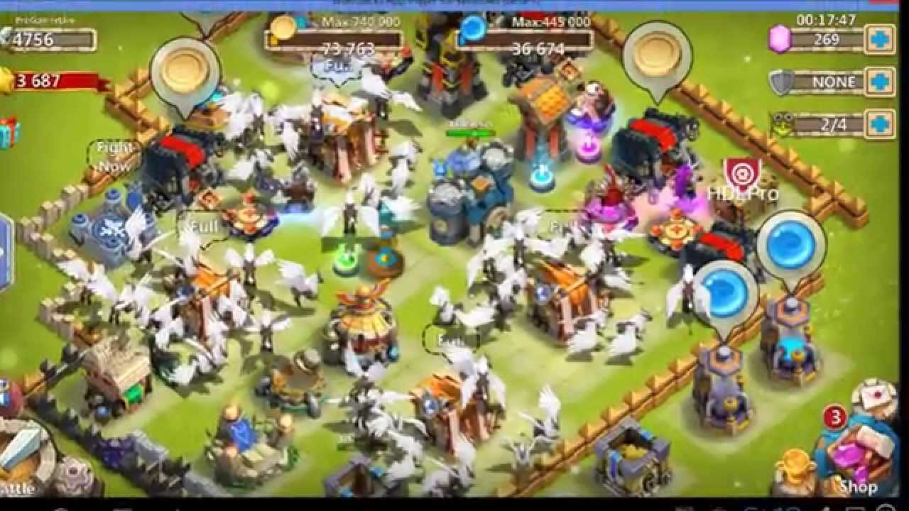 Castle Clash] -Tips- How to get free Gems HB