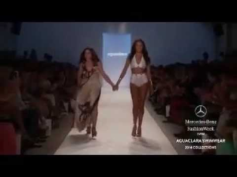 Aguaclara Spring Summer 14 Collection at Miami Mercedes Benz Fashion Week