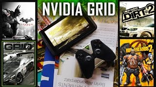 PC Gaming on Android! NVIDIA GRID Review | Game Streaming Gets a Makeover Thumbnail