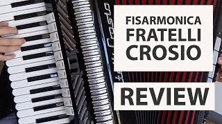 FISARMONICA FRATELLI CROSIO: La nostra prova - Tutorial sulla fisarmonica in generale