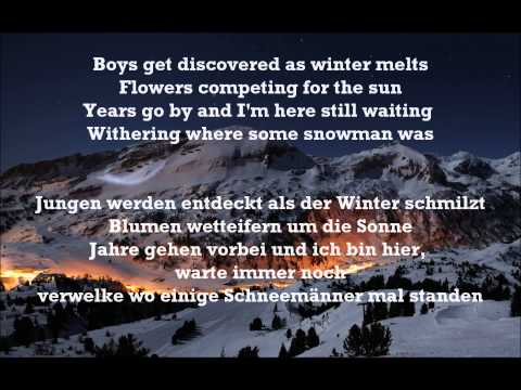 Winter - Tori Amos (lyrics + german translation) Übersetzung
