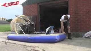 Home made Hovercraft 1st test