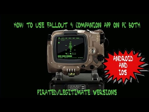How To Use Fallout 4 Pip-Boy App On PC (Pirated Or Legitimate)