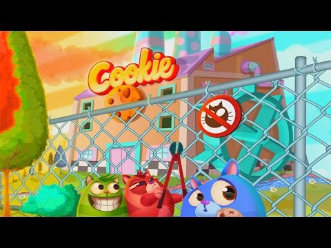 Cookie Cats - a singing puzzle adventure iPhone/iPod Touch/iPad Gameplay [HD]