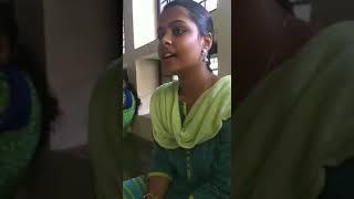 Gambar cover Jeevamshamayi Song sung by Tamil girl viral video Theevandi Malayalam Movie Tovino Thomas