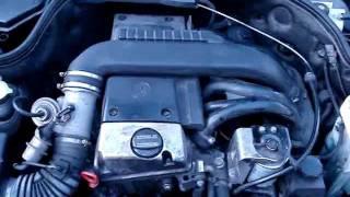 ralenti mercedes c220 d 1997