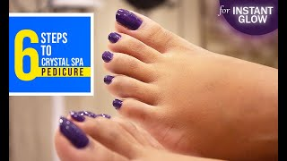 Crystal Spa Pedicure | Profile - The Chain of Salon