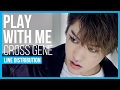 Cross Gene Play With Me Line Distribution Color Coded
