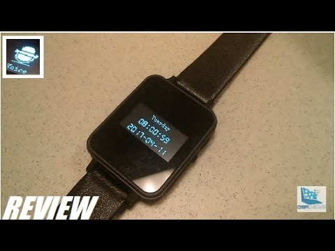 REVIEW: RUIZU K18 Bluetooth Voice Recorder MP3 Watch!