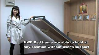 Hidden Wall Bed - Hidden Bed - Space Saving Bed - Wall Bed - HWB  Singapore - intro
